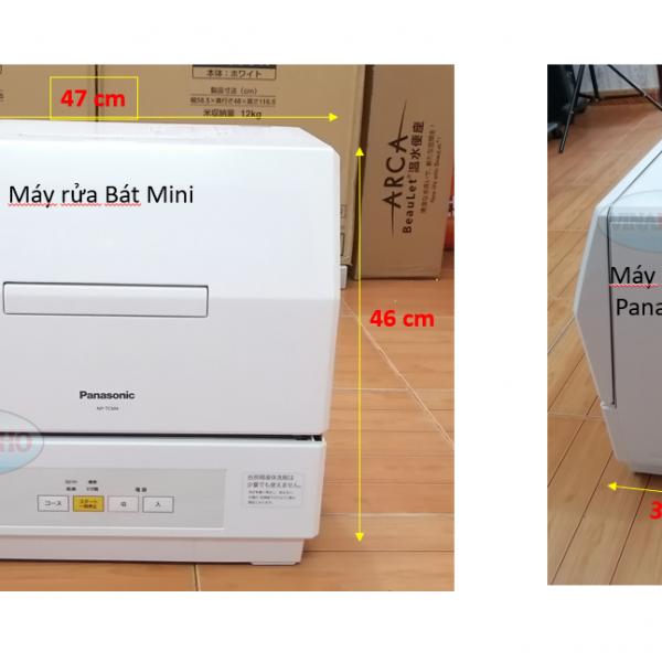 Máy rửa bát mini Panasonic